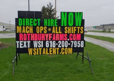 WSI hiring for Rothbury Farms in Grand Rapids
