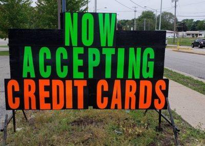 Wyoming, MI coin car wash begins taking credit cards