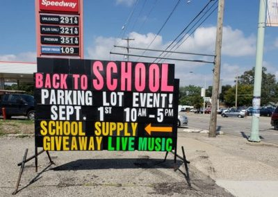 Wyoming's Hope Restored Empowerment Center's back to school event