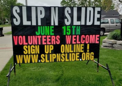 Slip-n-Slide even in Hudsonville